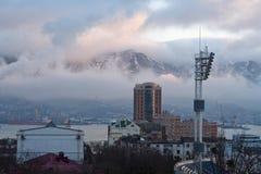Inverno na cidade Imagem de Stock