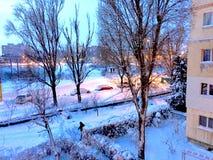 inverno nas cores Foto de Stock