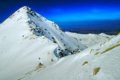 Inverno nas montanhas Fotografia de Stock Royalty Free