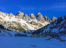 inverno nas montanhas de Áustria Imagem de Stock