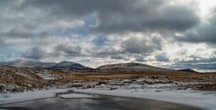 inverno nas montanhas escocesas Imagem de Stock