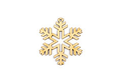 inverno, Natal, decoração de madeira do ano novo - floco de neve, estrela Foto de Stock