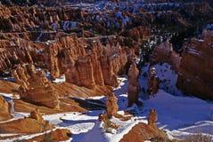 Inverno nel canyon fotografia stock libera da diritti