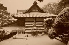 Inverno nel Giappone Immagini Stock Libere da Diritti
