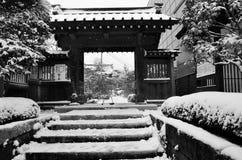 Inverno nel Giappone Immagine Stock Libera da Diritti