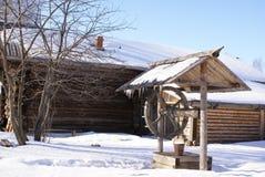 Inverno nel lato del paese Immagine Stock Libera da Diritti