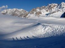 Inverno nel mountainShadow immagini stock