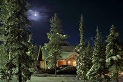 Inverno nel paese Fotografie Stock
