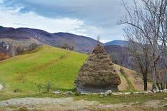 Inverno nella Transilvania Romania Fotografia Stock Libera da Diritti