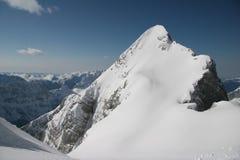 Inverno nelle alpi di Julian Fotografia Stock Libera da Diritti