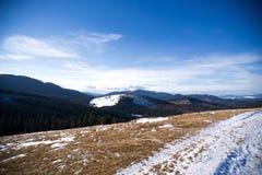 Inverno nelle alpi svizzere, Svizzera Fotografie Stock Libere da Diritti