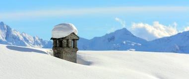 Inverno nelle montagne Immagine Stock Libera da Diritti