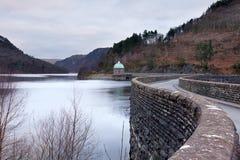 Inverno nelle valli di Lingua gallese Immagini Stock Libere da Diritti