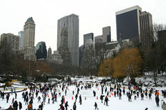 Inverno a New York Fotografia Stock