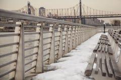 Inverno a New York City Fotografia Stock Libera da Diritti