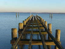 inverno no mar Báltico Fotografia de Stock Royalty Free