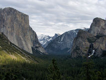 Inverno no parque de Yosemite Fotografia de Stock Royalty Free