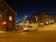 Inverno in Norvegia Immagini Stock