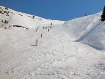 Inverno nos alpes. Fotos de Stock Royalty Free