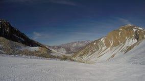 inverno nos Andes Imagens de Stock Royalty Free