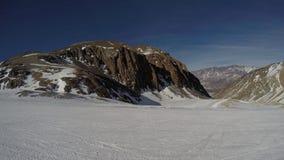 inverno nos Andes Foto de Stock Royalty Free