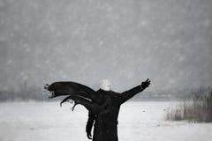 Inverno nuclear Foto de Stock