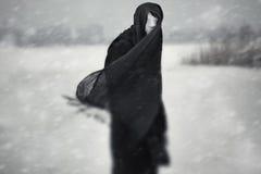 Inverno nuclear Fotografia de Stock
