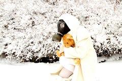 Inverno nuclear Fotos de Stock