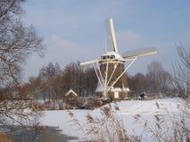 Inverno in Olanda Fotografia Stock