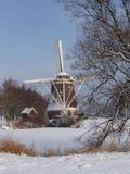 Inverno in Olanda Fotografia Stock Libera da Diritti