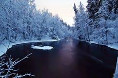 Inverno a Oslo Fotografia Stock