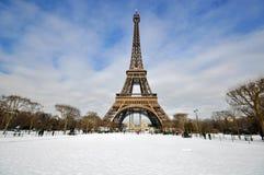 Inverno a Parigi Fotografia Stock