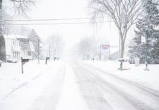 inverno que conduz a segurança Fotografia de Stock