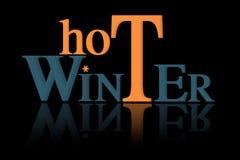 Inverno quente Fotografia de Stock Royalty Free