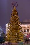 Inverno Riga in un 31 dicembre di 2014 Immagini Stock Libere da Diritti