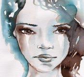 Inverno, ritratto freddo royalty illustrazione gratis