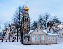 Inverno russo Fotografia Stock