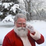 Inverno Santa fotografia stock libera da diritti