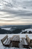 Inverno Sauerland Fotografia Stock Libera da Diritti