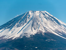 Inverno scenico del monte Fuji Fotografia Stock Libera da Diritti