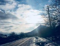 Inverno soleggiato immagine stock libera da diritti