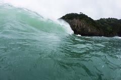 Inverno Wave Fotografia Stock Libera da Diritti