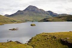 Inverpolly Naturreservat, Hochländer Lizenzfreie Stockbilder
