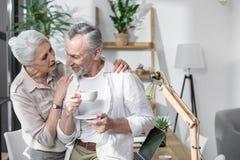 Inverse supérieure de couples ensemble photos libres de droits
