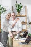 Inverse supérieure de couples ensemble image stock