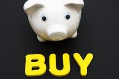 Inversión de sus ahorros Foto de archivo libre de regalías