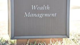 Inversión del fondo de la gestión de la riqueza foto de archivo