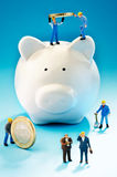 Inversión financiera Foto de archivo libre de regalías