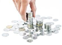 Inversión financiera y ahorros fotos de archivo