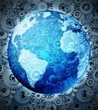 Inversión global Imagen de archivo libre de regalías